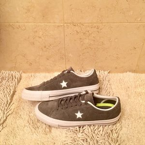 Converse One Star Suede Low Tops -Women's Size 8.5